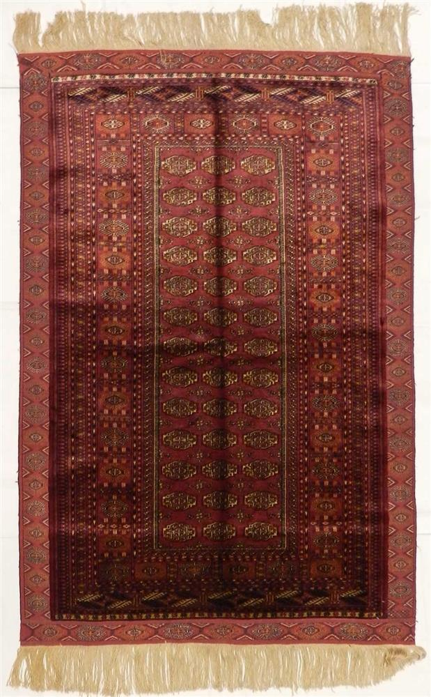 ?Turkman silk carpet